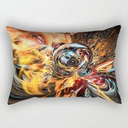 Oh Wow 3d legging Fx  Rectangular Pillow