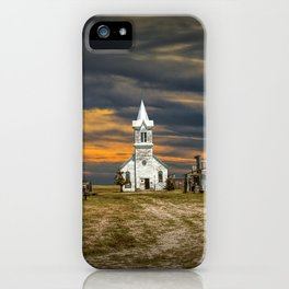 Western 1880 Town iPhone Case