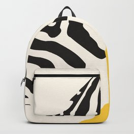 Zebra Abstract Backpack