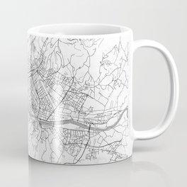 Florence Map Line Coffee Mug