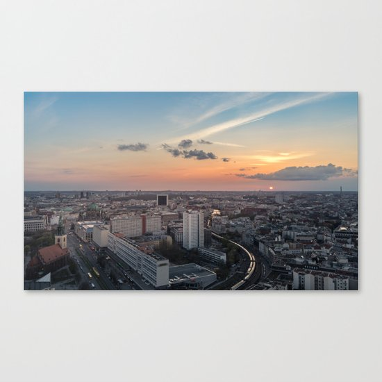 Berlin Mitte Canvas Print
