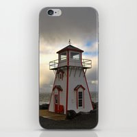 lighthouse iPhone & iPod Skins featuring Lighthouse by Sartoris ART