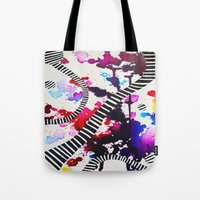 splash Tote Bags featuring Splash by DuckyB