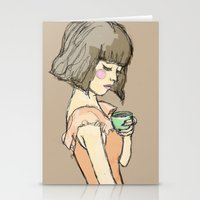 gemma correll Stationery Cards featuring Gemma by Gemma Teese
