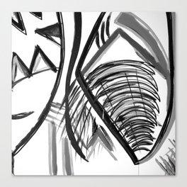 Midnight Dreams Shower curtain Canvas Print