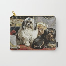 Charles Van Den Eycken - Circus Entertainers Carry-All Pouch