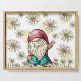 Hippie Gnome Serving Tray