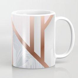 White Pastel Art Deco Coffee Mug
