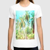 cuba T-shirts featuring Cuba , Palmeras ( Cuba palms ) by arnedayan