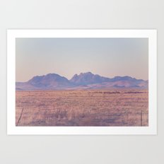 Westward II Art Print