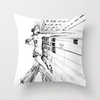 random Throw Pillows featuring random  by new art