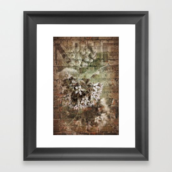 Structure Adapted Framed Art Print