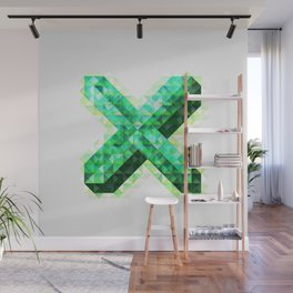 The Letter X Wall Mural