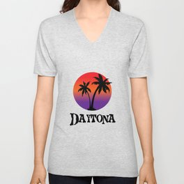 Daytona Beach Unisex V-Neck