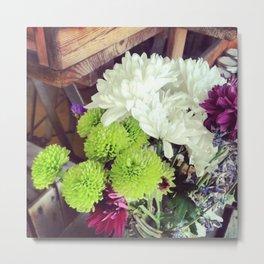 Bouquet Beauty Metal Print