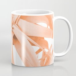 Coral Color Air Plant White Background #decor #society6 #buyart Coffee Mug