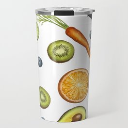 Fruits and vegetables Travel Mug