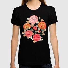 Climbing Rosa Vines - Vintage  T-shirt