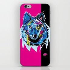 Lazer Wolf iPhone Skin