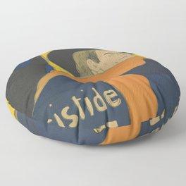 "Henri de Toulouse-Lautrec ""Eldorado: Aristide Bruant"" Floor Pillow"