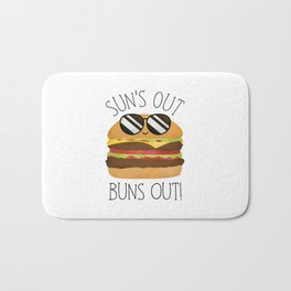 Sun's Out Buns Out! Bath Mat