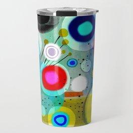 Abstract Art Colorful Travel Mug