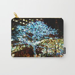 Holiday lights, Rockefeller Center, New York City, New York Carry-All Pouch