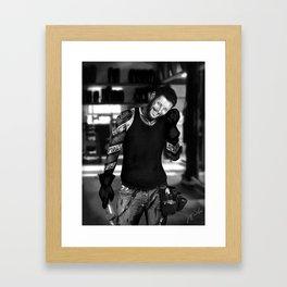 Grease Framed Art Print