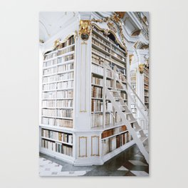 Admont Abbey Library Canvas Print