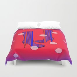 Art Meets Fashion Duvet Cover