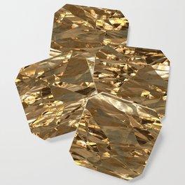 Gold Metal Coaster