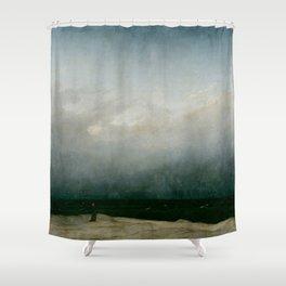 Caspar David Friedrich - The Monk by the Sea Shower Curtain