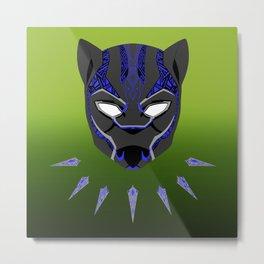 Black Panther 2.0 Tribal Metal Print