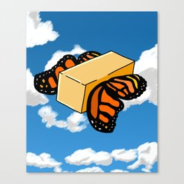 Butter Flys Canvas Print