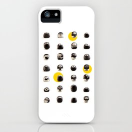 stoneheads 002 iPhone Case