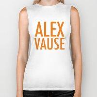 alex vause Biker Tanks featuring Alex Vause (2) by Zharaoh