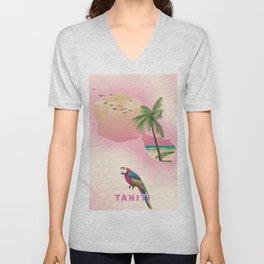 Tahiti Unisex V-Neck