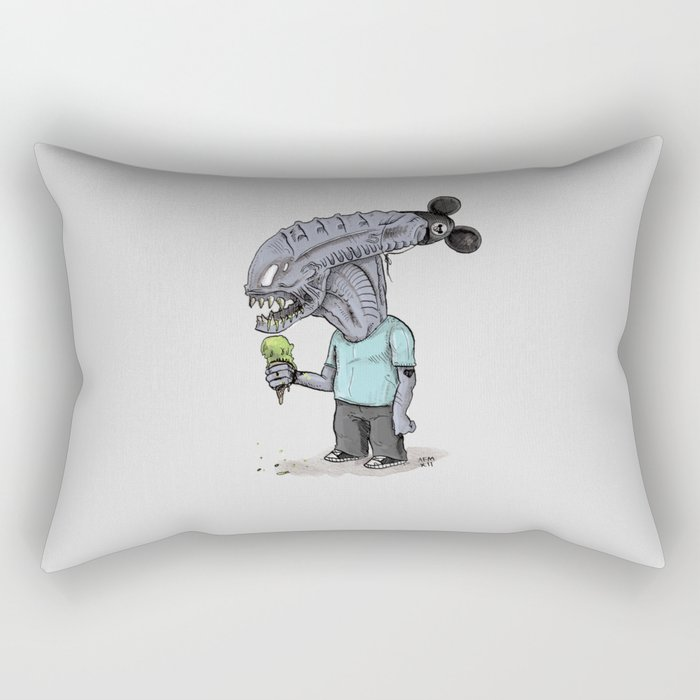 Happiest Space On Earth Rectangular Pillow