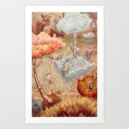 Totes MaGoats 1 Art Print