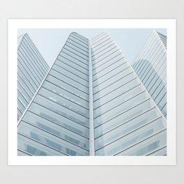 City of Arts and Sciences | Architecture by Calatrava | Valencia Architecture Art Print