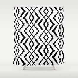 LETTERNS - X - Chiller Shower Curtain
