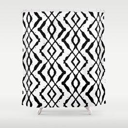 LETTERNS - X - Chiller Shower Curtain