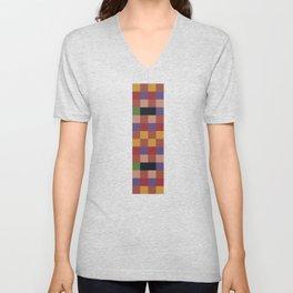 Mosaic Game Unisex V-Neck