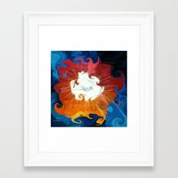 mother Framed Art Prints featuring Mother by Paul Kimble