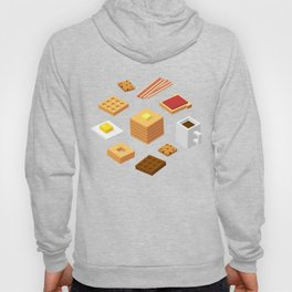 Isometric Breakfast Hoody