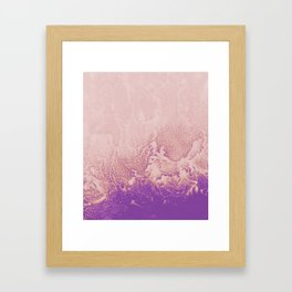 Extraction of Fear Framed Art Print