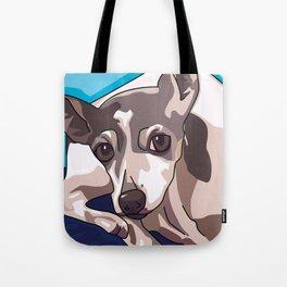 Jasmine Dog Tote Bag