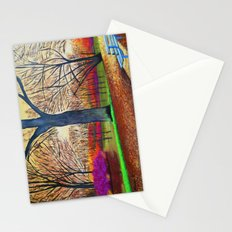 Wonderful colors of fall Stationery Cards