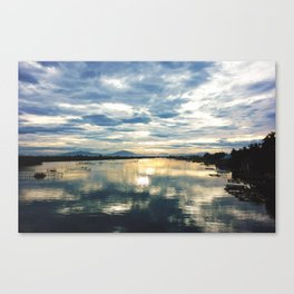 The World at Rest Canvas Print