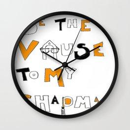 Vause to my Chapman (OITNB) Wall Clock
